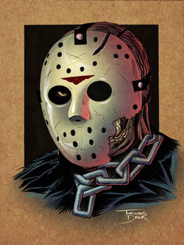 Jason - Friday the 13th Part 7 w/Mask