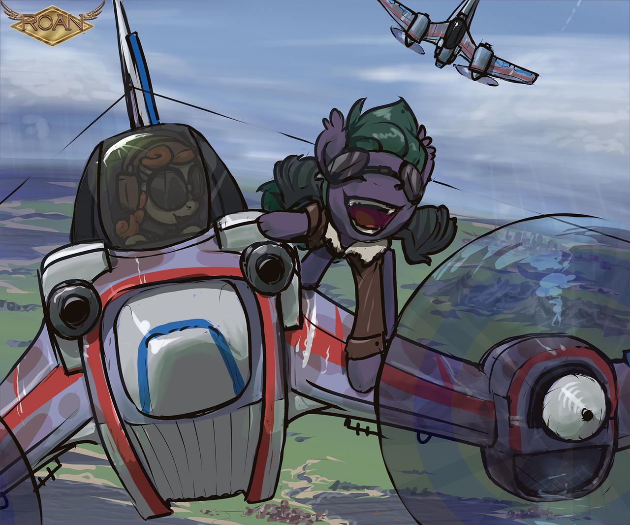 Wing pony rides! by mh47e