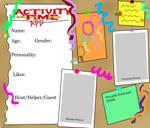 Activity Time App Idea