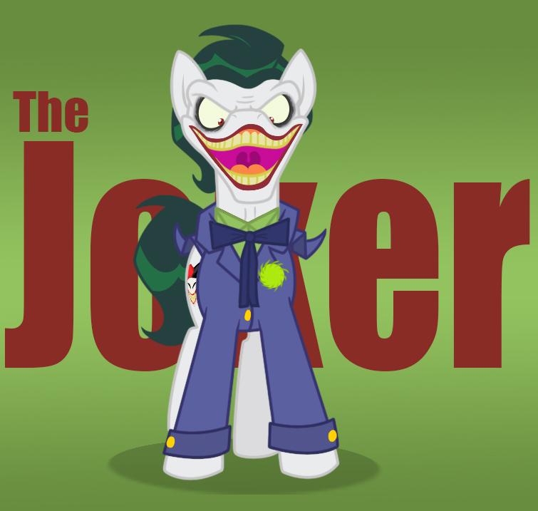 The joker pony by icelion87 on DeviantArt
