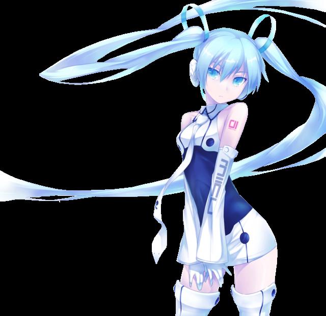 Miku Render by Kaminaridecode