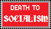 Stamp: Death to Socialism by MobileSuitSonic