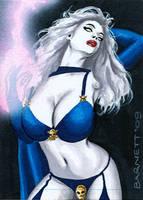 Lady Death 2 by artguyNJ
