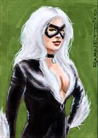 Black Cat again by artguyNJ