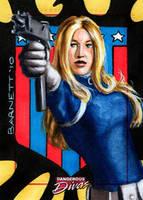 Dangerous Diva- Sharon Carter by artguyNJ
