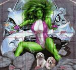 Dangerous Diva- She-Hulk