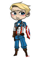 Captain America by sunflowermints