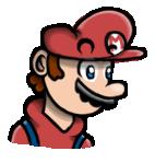 Mario portrait. by arvidnystromart