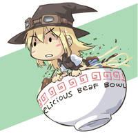 Delicious Beaf Bowl by JohnSu