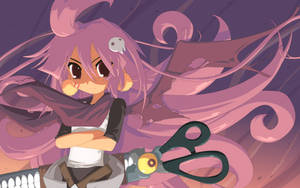 Scissor Loli by JohnSu