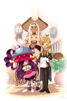 Peanut Butler, Angela, Sand Witch