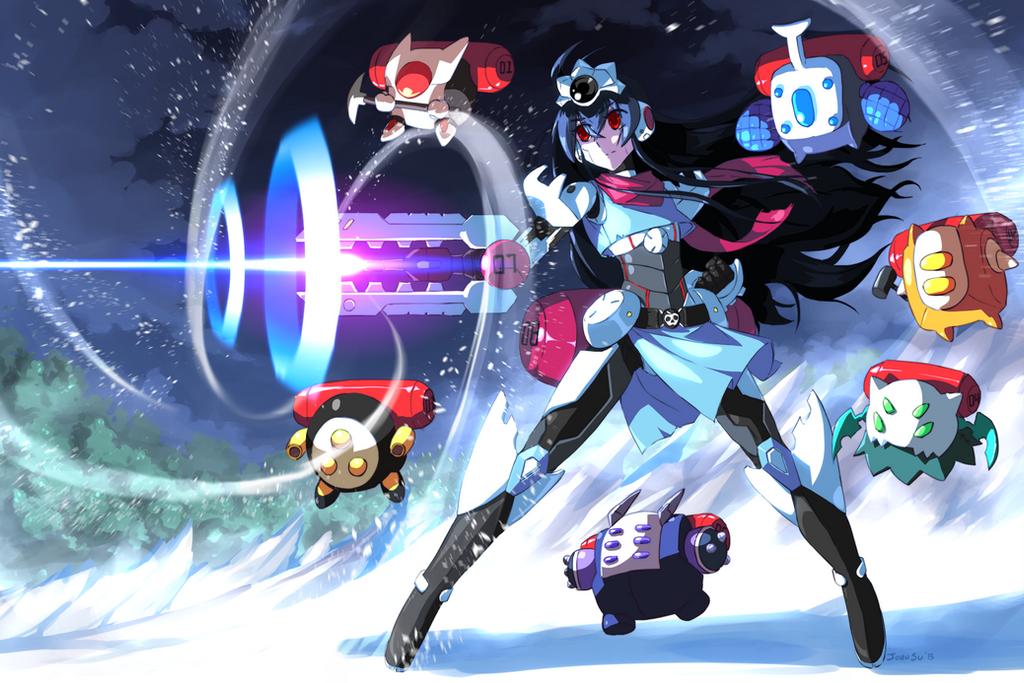 Ultimate Cyborg Snow White by JohnSu