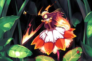 Fire Flower Enka by JohnSu