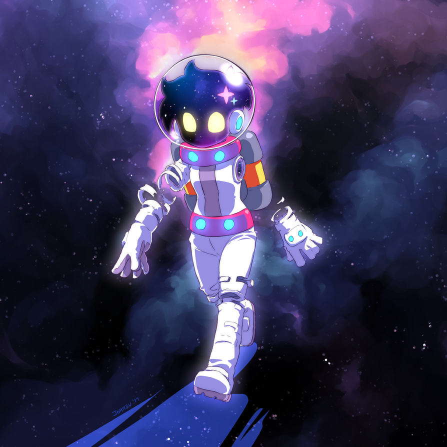 Space Walk by JohnSu