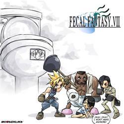 Fecal Fantasy VII by JohnSu