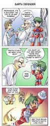 Earth Defender by JohnSu