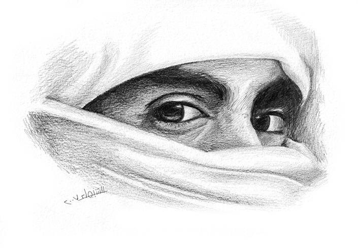 حكاية جميلة الأدب العربي Arabian_Knight_by_mi