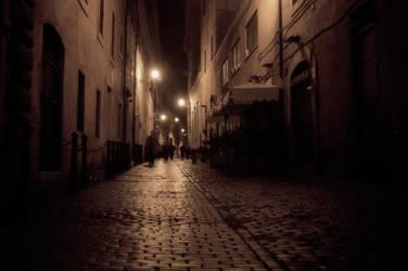 Rome - Via Giustiniani by audiozona