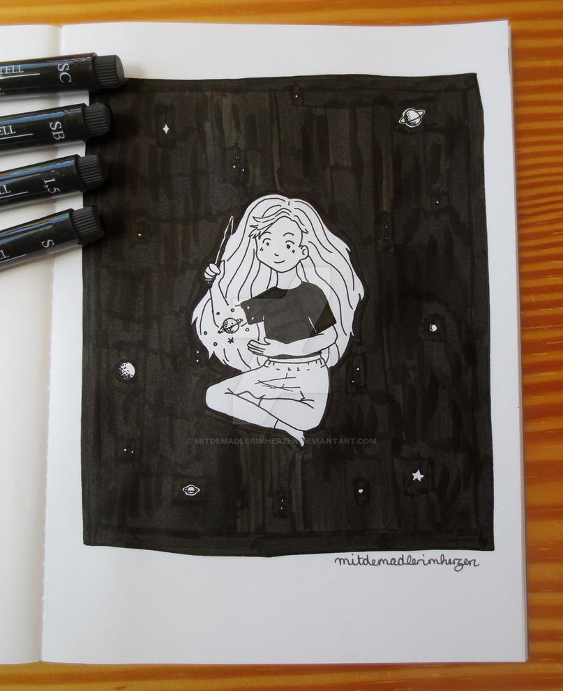 Space Witch by mitdemadlerimherzen