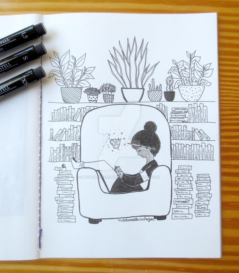 Book Witch by mitdemadlerimherzen