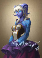 Yrel - Happy New Year- by Danell9