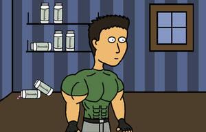 Chris in Resident Evil 6 by Yeti112
