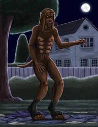 Dr. Beth, werewolf woman Part 4 by hairyboy712