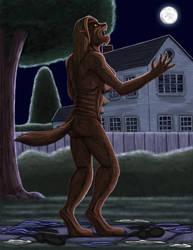 Dr. Beth, werewolf woman Part 5 by hairyboy712