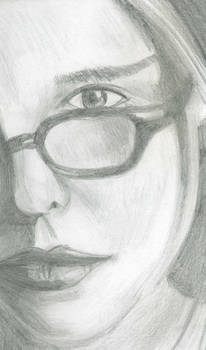 Close up portrait of woman