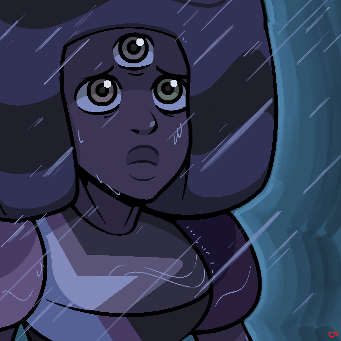 Garnet Future Vision by OneEyedSheep