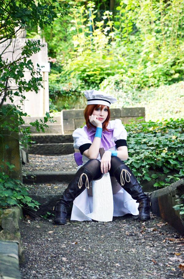 Rena Ryuuguu Cosplay - waiting~ by Natsumi-angel
