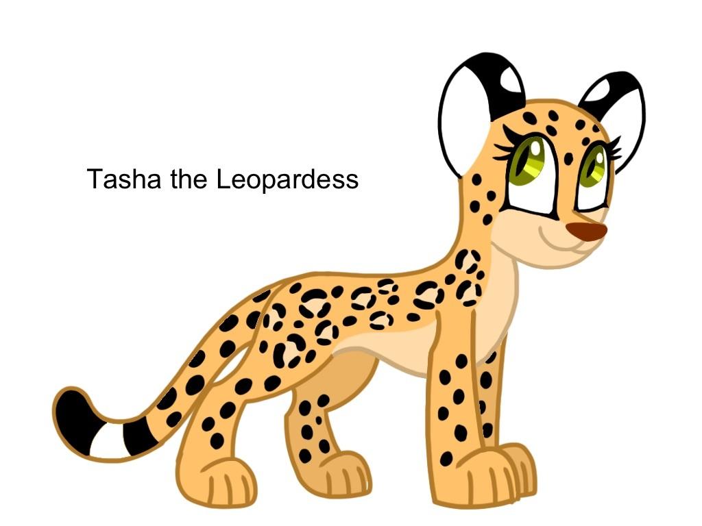 Tasha the Leopardess by AhO4464
