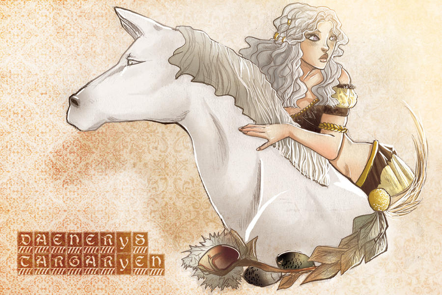 Daenerys Targaryen by hachiko