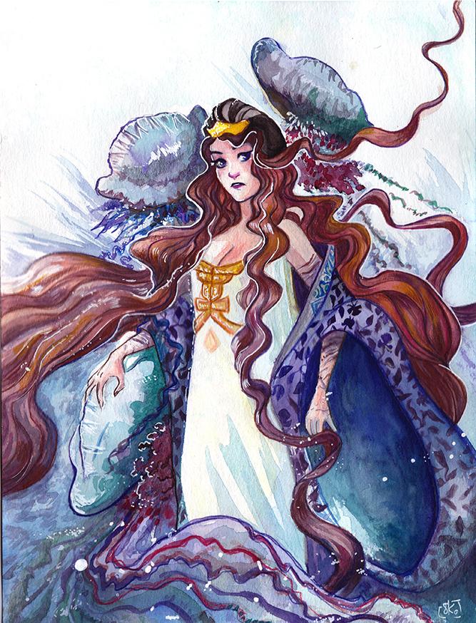 Lady physalia by hachiko
