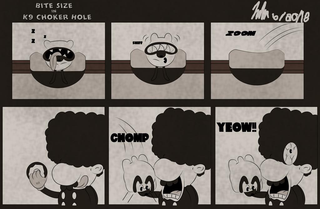 K-9 Choke Hole by Jpolte