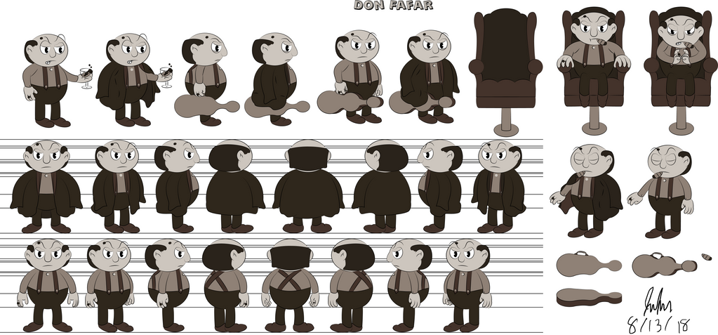 Don Fafar Character Design by Jpolte