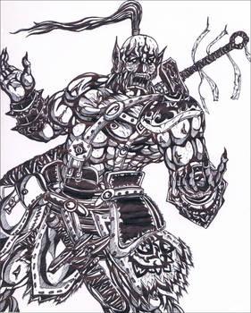 Wraith Maul the Orc Blacksmith