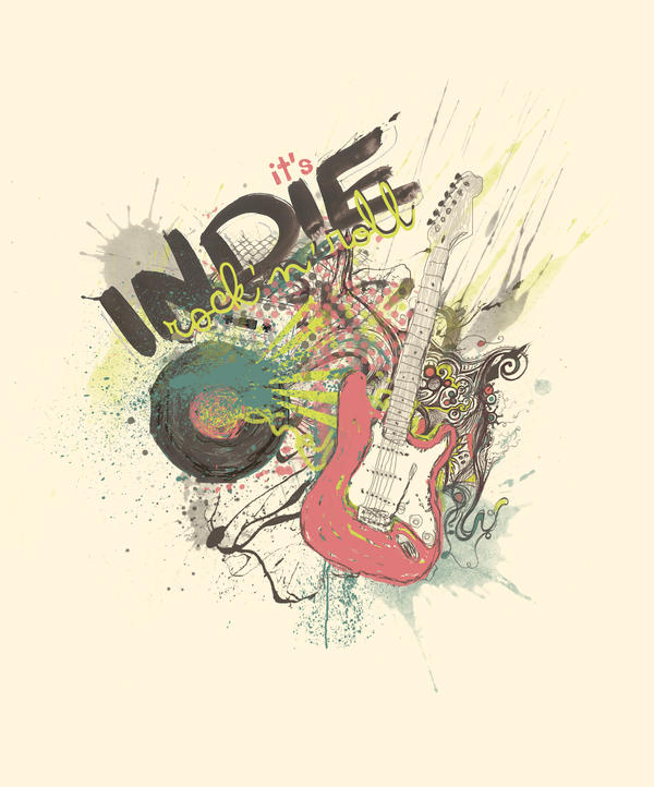 It's Indie Rock'n'Roll by DeniseEsposito