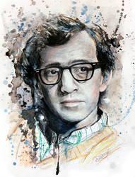 Woody Allen. by DeniseEsposito