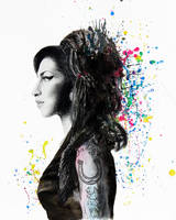 Amy Winehouse by DeniseEsposito