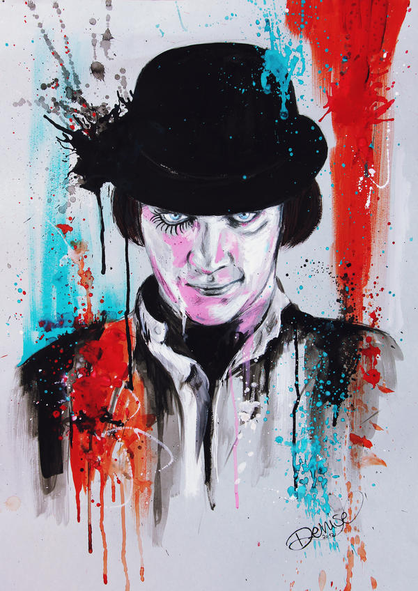 A Clockwork Orange - Alex by DeniseEsposito on DeviantArt