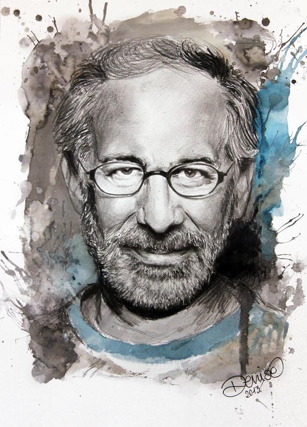 Steven Spielberg by DeniseEsposito