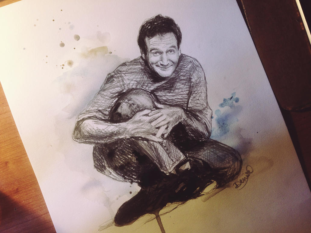 Robin Williams by DeniseEsposito