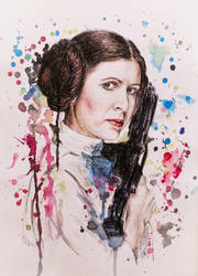Princess Leia - Carrie Fisher