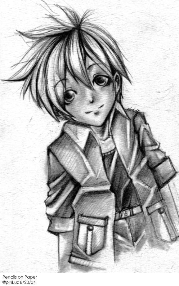 ORIGINAL - Boy Pencil Sketch by pinkuz on DeviantArt