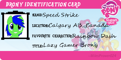 Speed Strike's ID! by luigiluigi1234