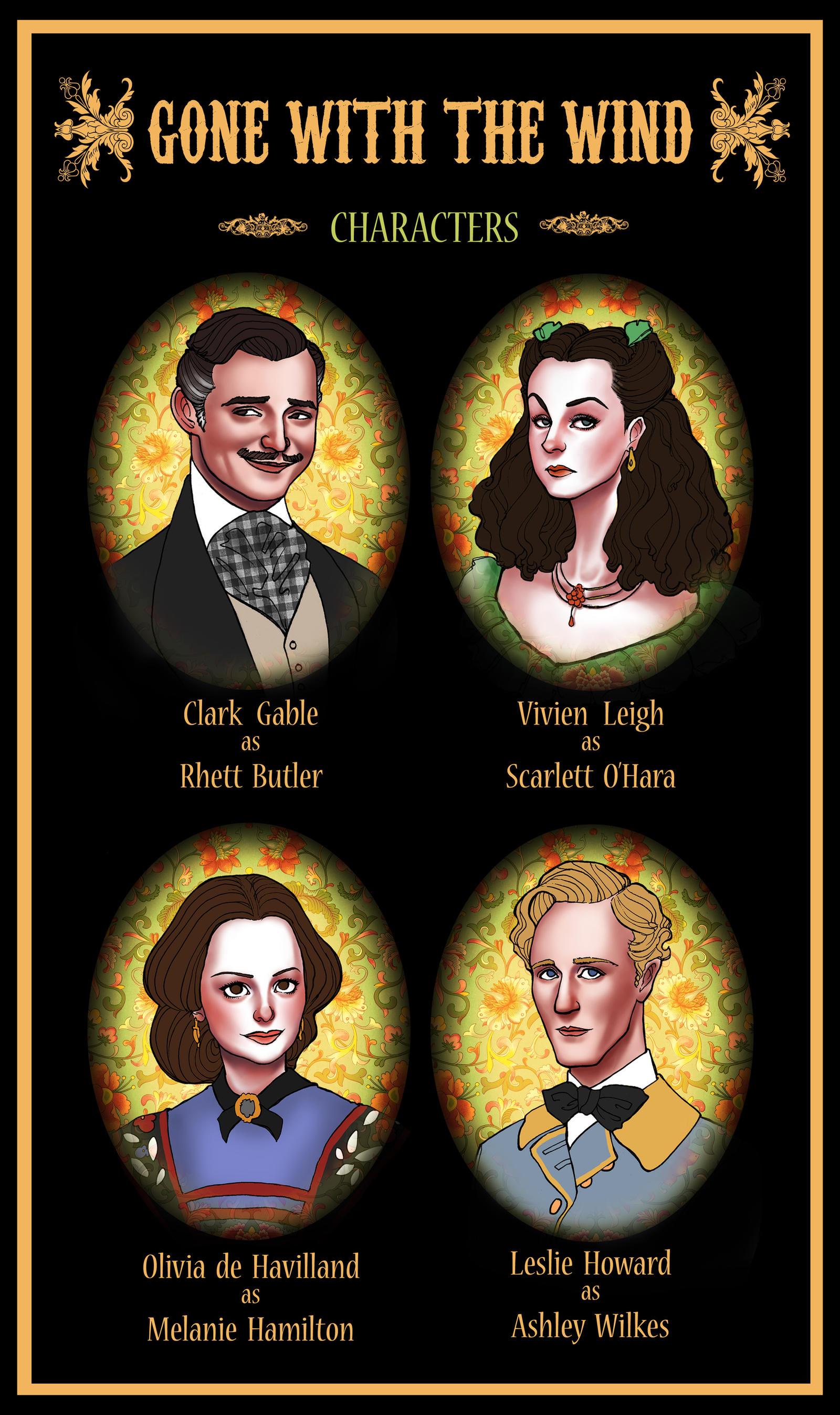 Main Characters In Gone With The Wind