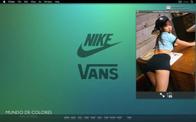 First OS X Screenshot