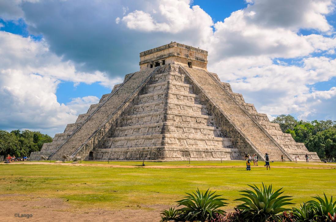Chitzen Itza Mexico by Lango77