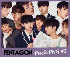 Pentagon PACK PNG #1 by KaelinShi